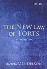 The New Law of Torts 2e