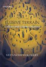 Elusive Terrain: Culture and Literary Memory