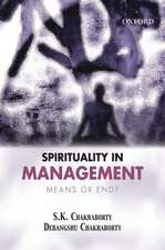Spirituality in Management: Means or End?