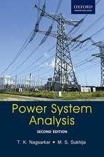 Power System Analysis: Power System Analysis
