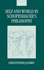 Self and World in Schopenhauer's Philosophy