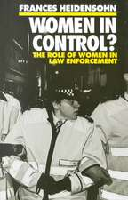 Women in Control?: The Role of Women in Law Enforcement