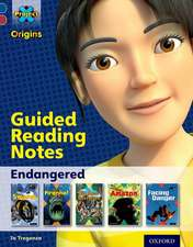 Project X Origins: Dark Blue Book Band, Oxford Level 15: Endangered: Guided reading notes