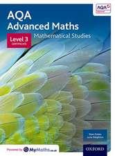 AQA Mathematical Studies Student Book: Level 3 Certificate