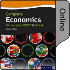 Complete Economics for Cambridge IGCSE and O Level: Online Student Book