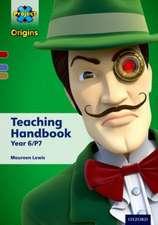 Project X Origins: Dark Red Book Band, Oxford Levels 17-18: Teaching Handbook Year 6/P7