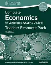 Complete Economics for Cambridge IGCSE® & O Level Teacher Pack