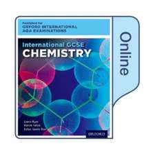 International GCSE Chemistry for Oxford International AQA Examinations: Online Textbook