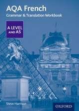 AQA A Level French: Grammar & Translation Workbook