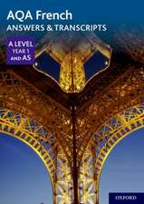 AQA French A Level Year 1 and AS Answers & Transcripts