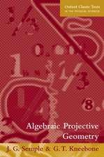 Algebraic Projective Geometry