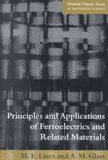 Principles and Applications of Ferroelectrics and Related Materials