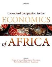 The Oxford Companion to the Economics of Africa