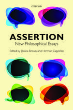 Assertion: New Philosophical Essays