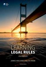 Learning Legal Rules: A Students' Guide to Legal Method and Reasoning