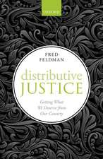 Distributive Justice: Getting What We Deserve From Our Country