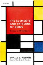 The Elements and Patterns of Being: Essays in Metaphysics