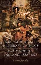 Biblical Readings and Literary Writings in Early Modern England, 1558-1625