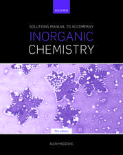 Solutions Manual to Accompany Inorganic Chemistry 7th Edition