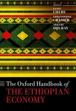 The Oxford Handbook of the Ethiopian Economy