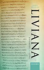Liviana: Studies on Livy