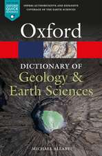 A Dictionary of Geology and Earth Sciences