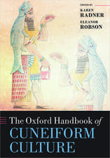 The Oxford Handbook of Cuneiform Culture