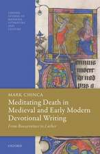 Meditating Death in Medieval and Early Modern Devotional Writing: From Bonaventure to Luther