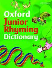 Oxford Junior Rhyming Dictionary (2008 edition)