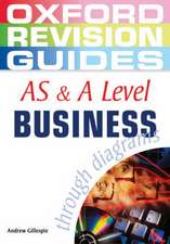AS and A Level Business Studies through Diagrams