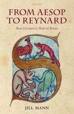From Aesop to Reynard: Beast Literature in Medieval Britain