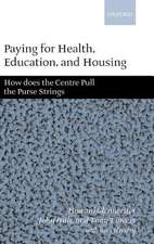 Paying for Health, Education, and Housing: How Does the Centre Pull the Purse Strings?
