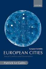 European Cities: Social Conflicts and Governance