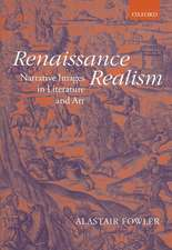 Renaissance Realism: Narrative Images in Literature and Art