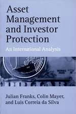 Asset Management and Investor Protection: An International Analysis