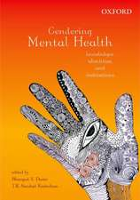 Gendering Mental Health: Knowledges, Identities, and Institutions