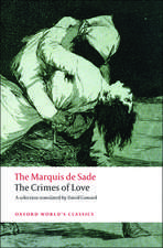 The Crimes of Love: Heroic and tragic Tales, Preceded by an Essay on Novels