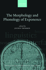The Morphology and Phonology of Exponence