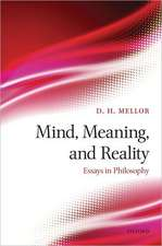 Mind, Meaning, and Reality: Essays in Philosophy