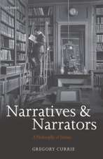 Narratives and Narrators: A Philosophy of Stories