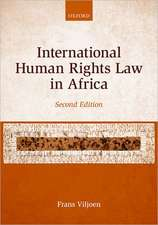 International Human Rights Law in Africa