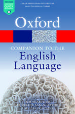 Oxford Companion to the English Language