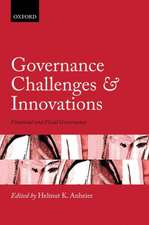 Governance Challenges and Innovations: Financial and Fiscal Governance