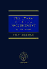 The Law of EU Public Procurement