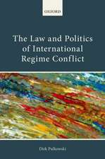 The Law and Politics of International Regime Conflict
