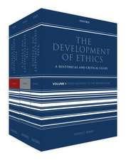 The Development of Ethics: Three volume set