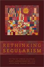 Rethinking Secularism