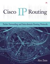 Cisco IP Routing:  Packet Forwarding and Intra-Domain Routing Protocols
