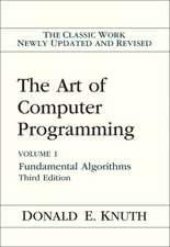 The Art of Computer Programming:  Fundamental Algorithms