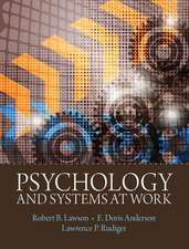 Psychology and Systems at Work:  Wri Scenarios W/Mwl&thinkg Thru